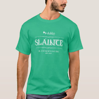 T-shirt St Patrick's Day And-Dublin
