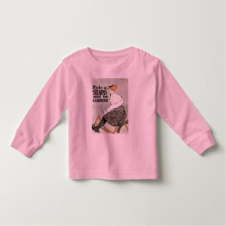 T-Shirt:   Sterns Bicycle - by Edward Penfield Toddler T-shirt