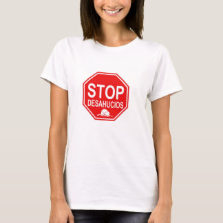 T-shirt stop Oustings