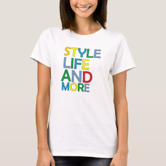 T-SHIRT STYLE LIFE AND LIVES
