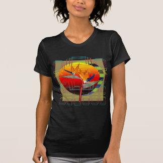 T-Shirt Sunset Strelitzia bird of paradise flower