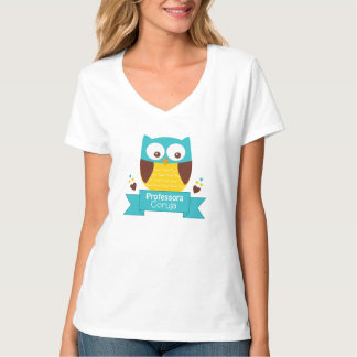 T-shirt - Teacher Owl