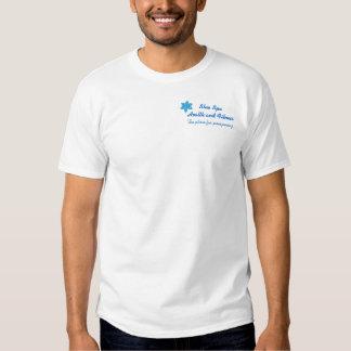 T-shirt Template Blue Spa