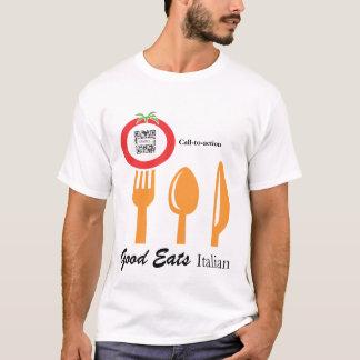 T-Shirt Template Casual Dining Italian
