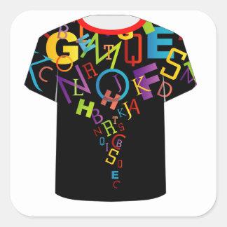 Letter t stickers zazzle for Zazzle t shirt template