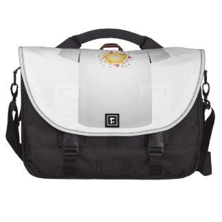 T Shirt Template- cute honeybee Commuter Bag