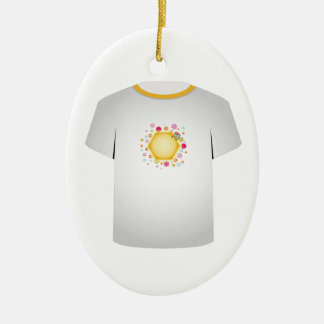 T Shirt Template- cute honeybee Ornaments