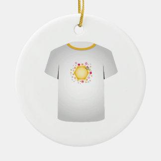 T Shirt Template- cute honeybee Christmas Ornament