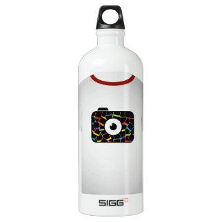 T Shirt Template-digital camera Water Bottle