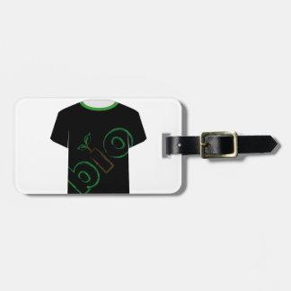 T Shirt Template- eco friendly Bag Tag