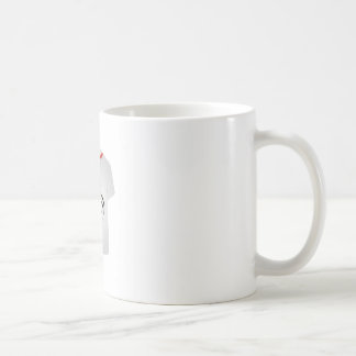 T Shirt Template- Fashion Model Coffee Mug