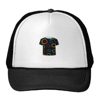 T Shirt Template- flora Trucker Hat
