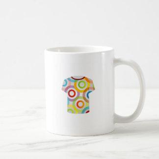 T Shirt Template-fractal rings Coffee Mug