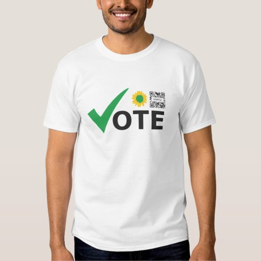 T-shirt Template Green Party