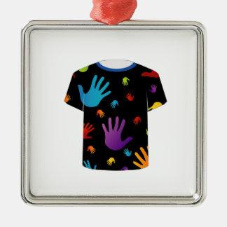T Shirt Template- Pop art graphic Ornament