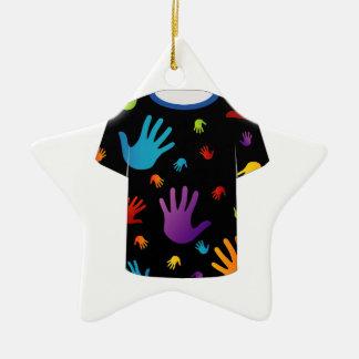 T Shirt Template- Pop art graphic Ornaments
