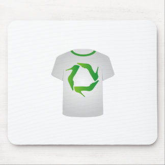 T Shirt Template- Recycle shoes Mouse Pad
