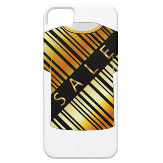 T Shirt Template- Sale bar code iPhone 5 Covers