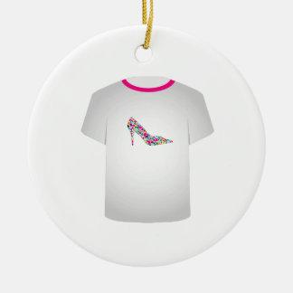 T Shirt Template-Shoe lover Ornament