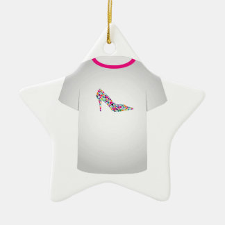 T Shirt Template-Shoe lover Christmas Tree Ornaments