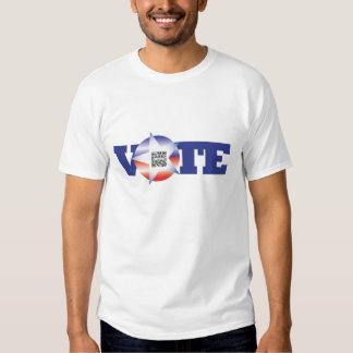 T-shirt Templatre VOTE