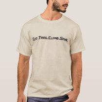 T-Shirt, Text logo front, Map logo back T-Shirt