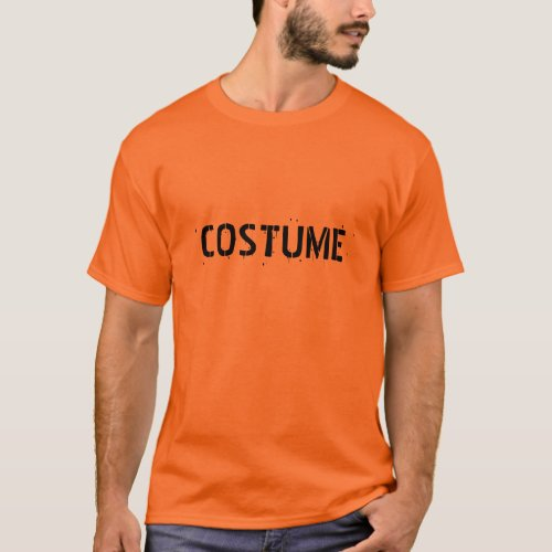 T_Shirt that just says COSTUME