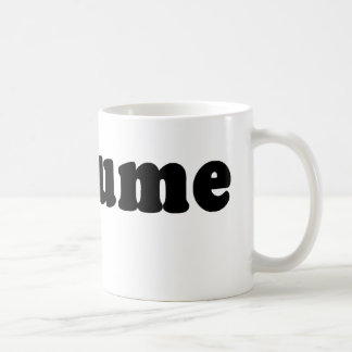 T shirt that just says COSTUME Coffee Mug