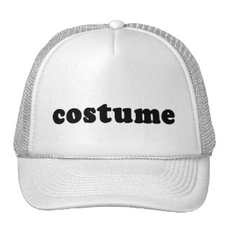 T shirt that just says COSTUME Trucker Hat