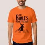 """T-shirt """"The Bible' s Obey Road """" Remera"""