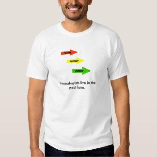 T-shirt  - the Past Lane