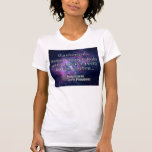 T-shirt the universe is…