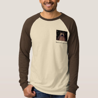 t-shirt: there once which A wolf T-Shirt