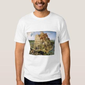 T-Shirt: Tower of Babel - Pieter Bruegel Shirts
