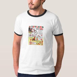 T-Shirt - Toyland - 1950s - Christmas - Toys