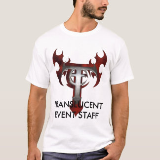 t-shirt, TRANSLUCENT EVENT STAFF T-Shirt