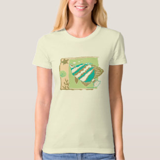 T SHIRT ~ TROPICAL FISH
