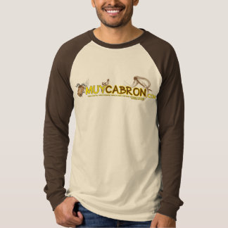 T-shirt two-color pencil official long sleeve muyc