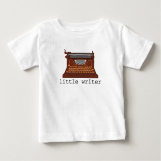 T-shirt typewriter baby
