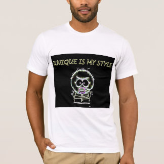 "t-shirt- ""unique is my style"" T-Shirt"