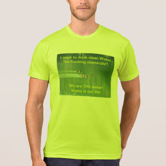 T-shirt Unisex with environmental slogan