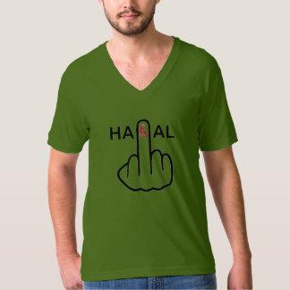 T-Shirt V-Neck Halal Flip