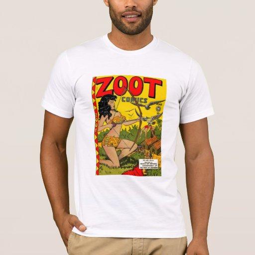 Vintage Book Cover Shirts : T shirt vintage comic book cover zoot zazzle