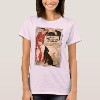 "T-Shirt: Vintage Steinlen ""Clinique Cheron"" T-Shirt"