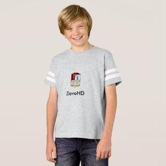 T-Shirt W/ Stripes/Grey