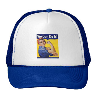 T-Shirt: We Can Do It Trucker Hat