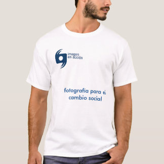 T-shirt white IeA man