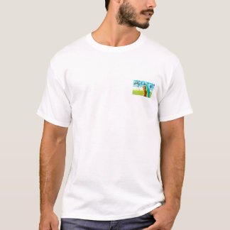 T-Shirt with a colorful array of Stand Up Paddlers