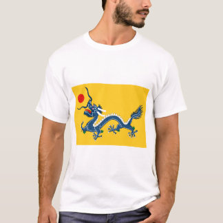 T-shirt with Chinese dragon