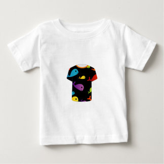 T Shirt with colorful fishes